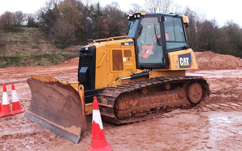A34 - Crawler Tractor Dozer