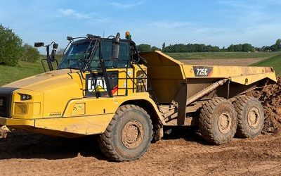 CPCS 5 Day Articulated Rear Tipping Dump Truck Courses