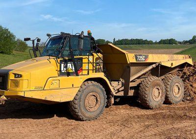 A56 – Articulated Rear Tipping Dumptruck