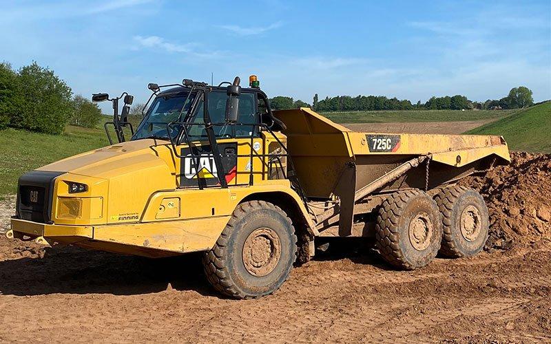 A56 - Articulated Rear Tipping Dumptruck