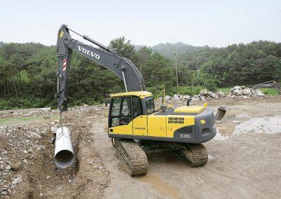 A97 – Lifting (A58) Excavator 360 Below 10 Tonnes